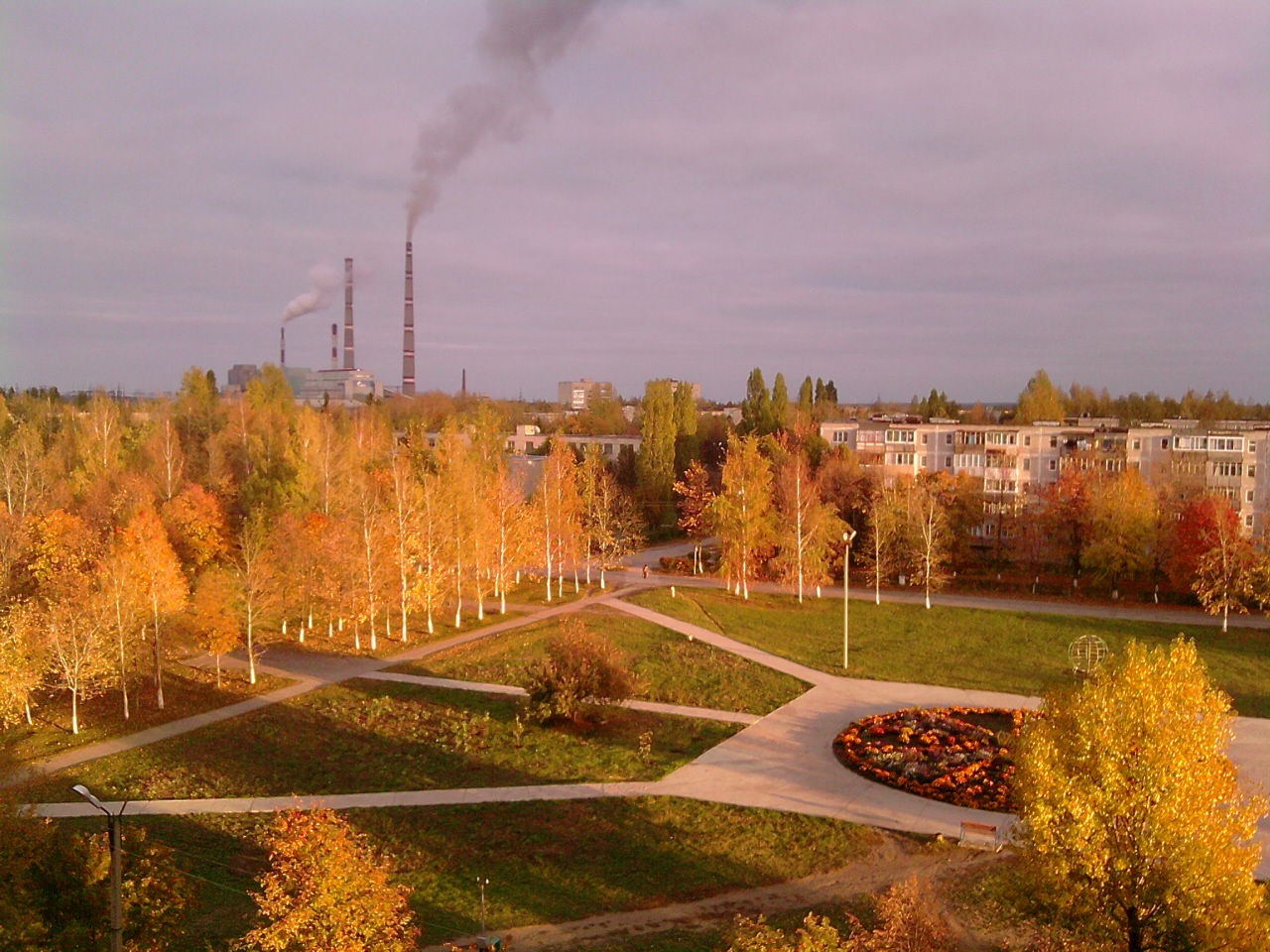 Осенний Новомичуринск